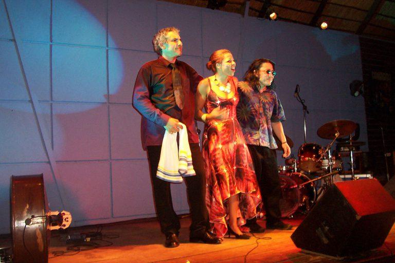 Mina Agossi trio