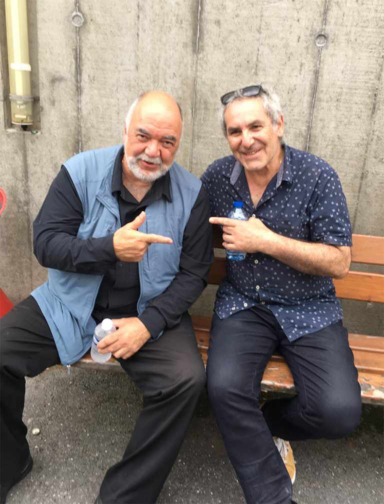 with Peter Erskine